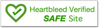 Heartbleed Verfied Safe Site